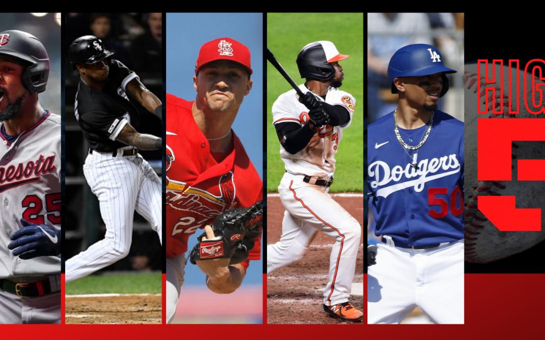 #HIGHFIVE | Top Black & Brown MLB Bros Of Week 4