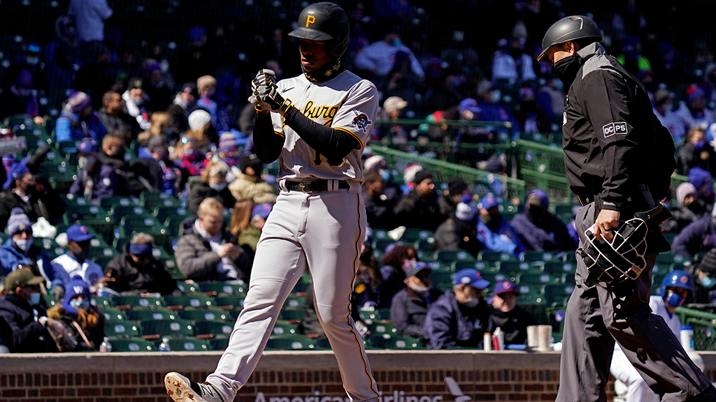 Don't Even Watch Pirates Games For The Next 10 Days…Ke'Bryan Hayes Is Hurt