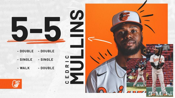 Must Be The Mullins: Orioles Advance To 3-0 Behind Centerfielder's 5-Hit Game