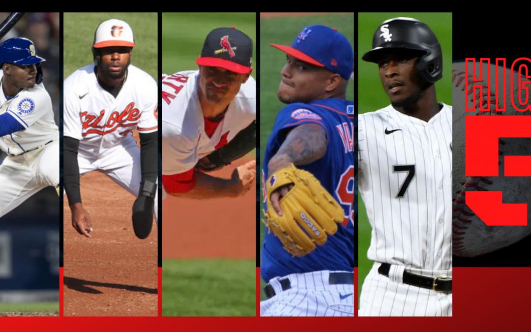 #HIGHFIVE | Top 5 Black & Brown MLB Bros Week 6