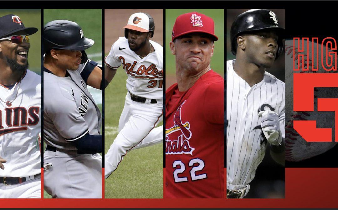 #HIGHFIVE: Top 5 Black & Brown MLB Bros Of Week 5