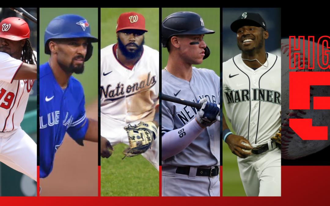 #HIGHFIVE | Top 5 Black & Brown MLB Players Week 8