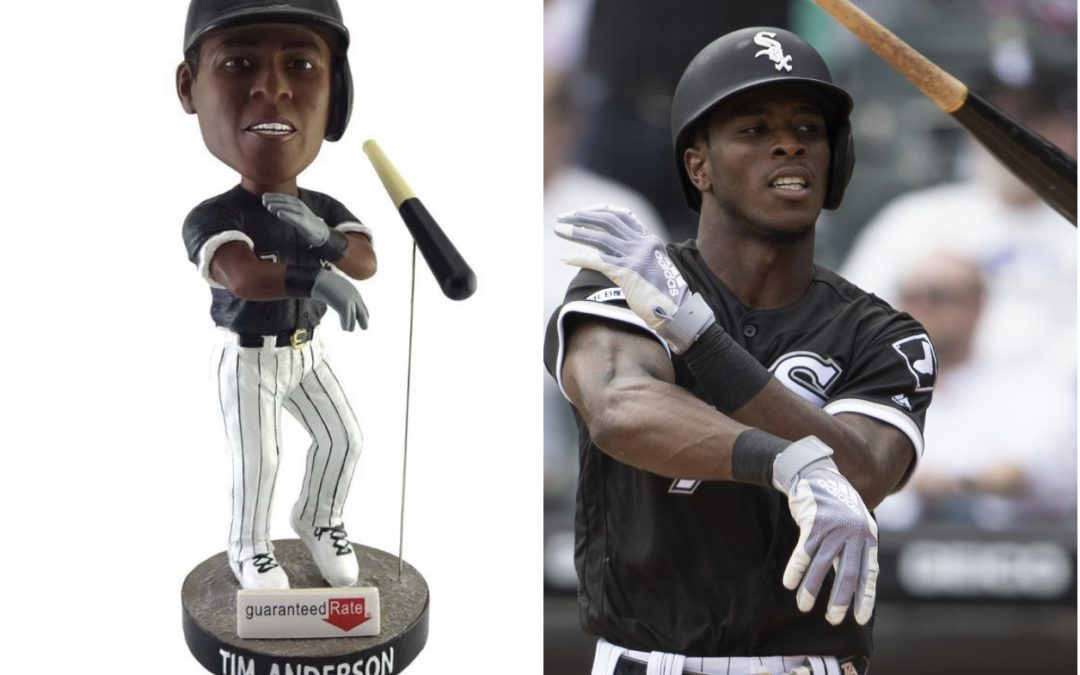 Tim Anderson Bobblehead Doll Celebrates The Reemergence of Swag Culture In MLB
