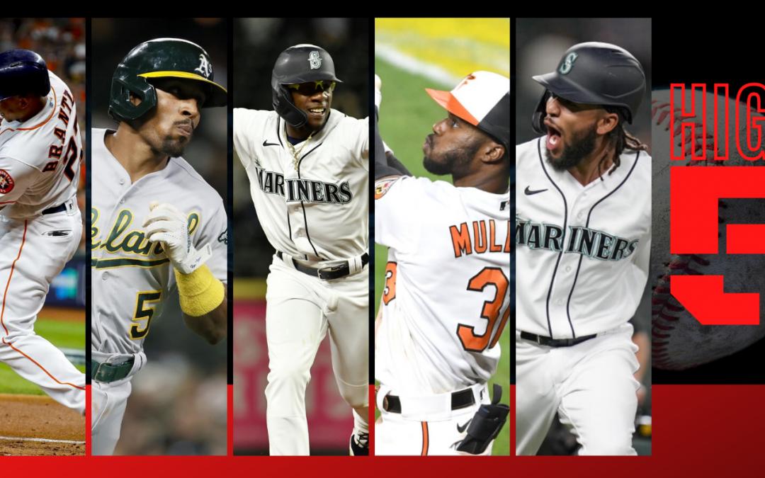 #HIGHFIVE | Top 5 MLBbros (Week 12)