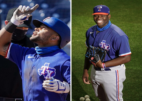 Demarcus Evans & Jason Martin Are Blacking Out on The Texas Rangers