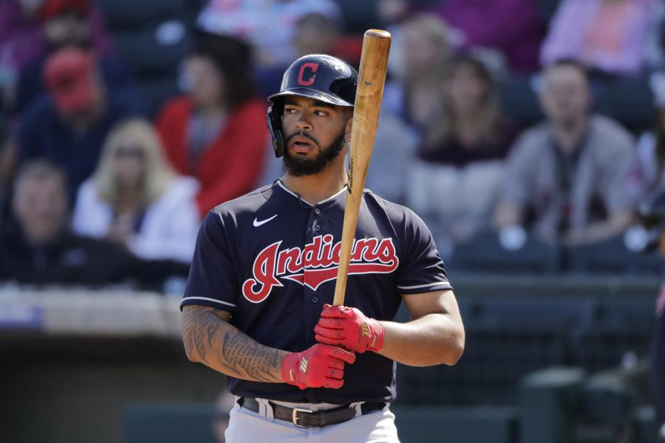 Cleveland Indians Rookie Bobby Bradley Is The Tower With The Power