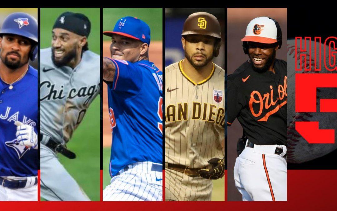 #HIGHFIVE | Top 5 Black & Brown MLB Players (Week 9)