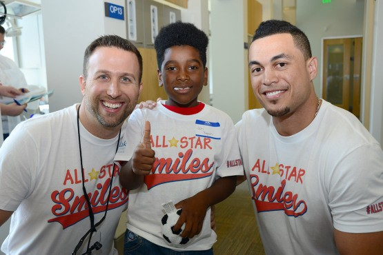 Giancarlo Stanton's Fastball To The Face Inspired All-Star Smiles | Fighting Tooth Decay For Kids In Underserved Communities