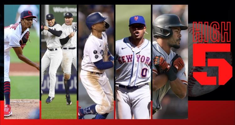 #HIGHFIVE | Top 5 Black & Brown MLB Players (Week 23)