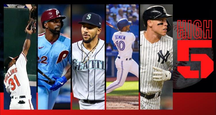 #HIGHFIVE| Top 5 Black & Brown MLB Players (Week 24)