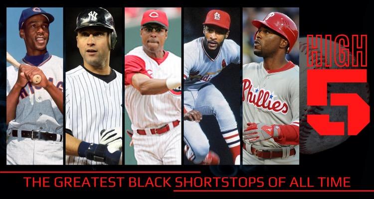 #HIGHFIVE | Top Black Shortstops In MLB History