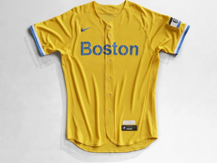 Special Delivery: Unveiling Of My New Boston Red Sox City Connect Jersey