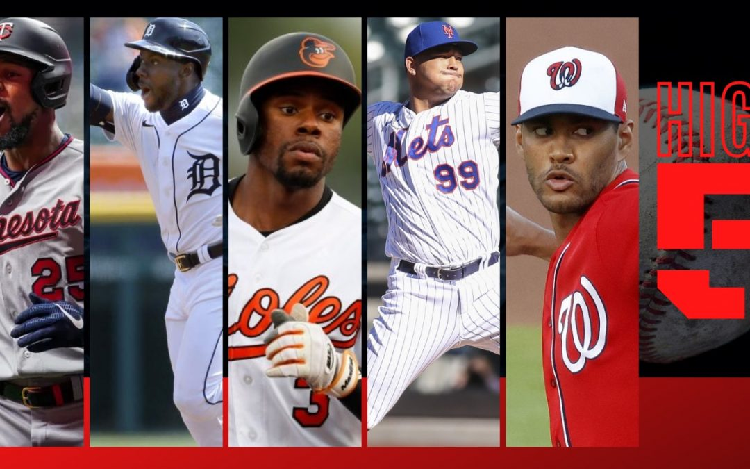 #HIGHFIVE: Top 5 Black & Brown MLB Bros Of Week 2