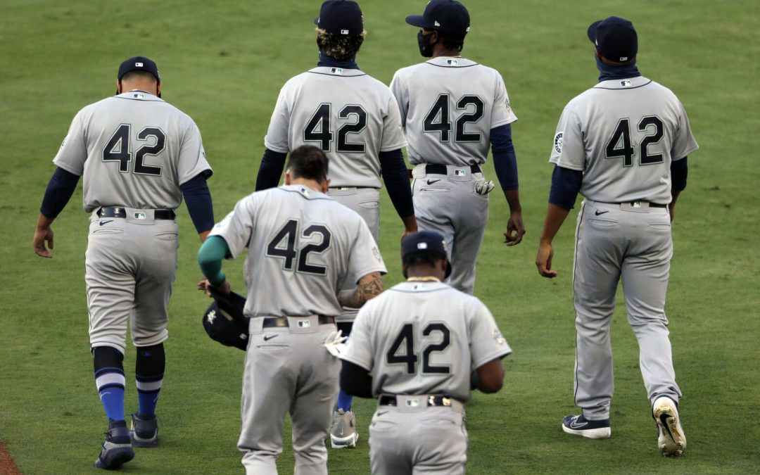 MLB's Bros Showed Out For Jackie Robinson Day