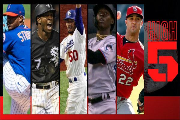 #HIGHFIVE: Top 5 Black & Brown MLB Bros Of Week 3