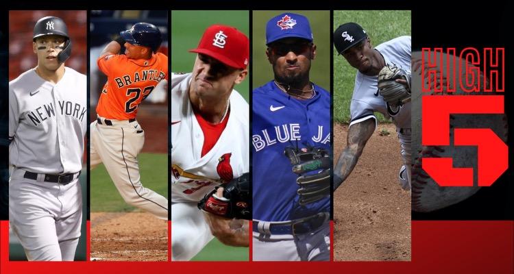#HIGHFIVE| Top 5 Black & Brown MLB Players Week 7
