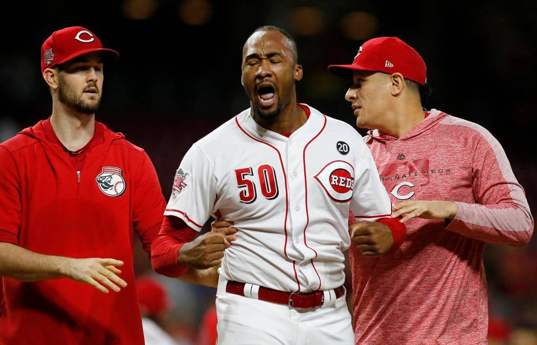 Amir Garrett Is A Throwback Closer Who Uses Intimidation To Get Results