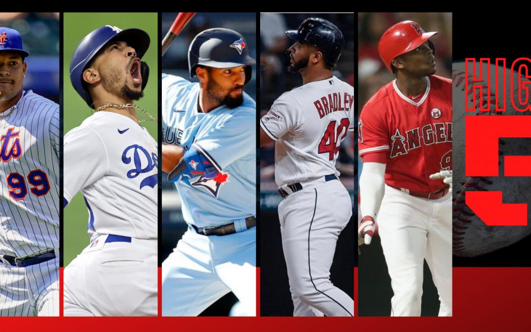 #HIGHFIVE | Top 5 MLBbros (Week 11)
