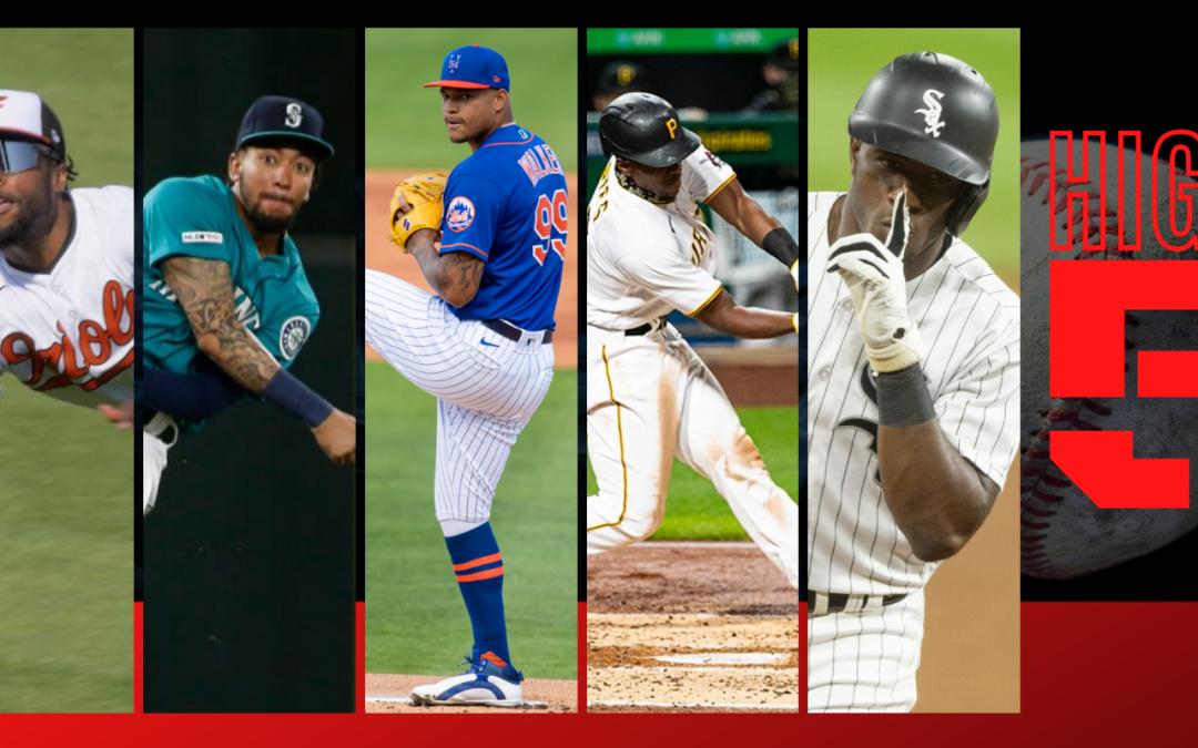 #HIGHFIVE   Top 5 MLBbros (Week 10)