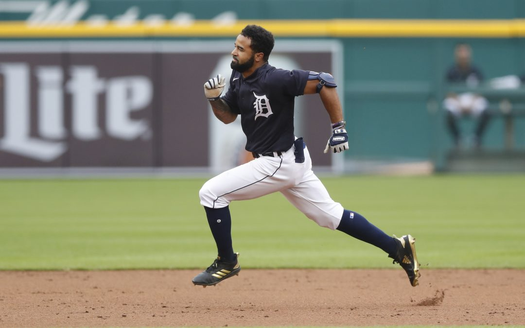 Derek Hill Is Back In The Bigs | The Tigers Outfielder Is Looking To Stick Like Glue