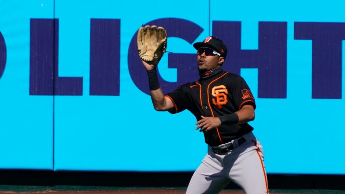 LaMonte Wade Jr. | Get Hip To The San Francisco Giants Wood Wacker