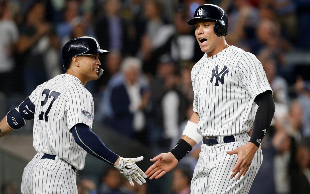MLBbros Giancarlo Stanton and Aaron Judge Are Dragging The NY Yankees Back Into Playoff Race