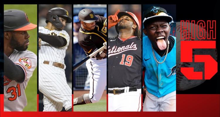 #HIGHFIVE | Top 5 MLBbros (Week 13)