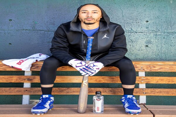 Mookie Betts Goes To Bat For COVID-19 Vaccine In Los Angeles