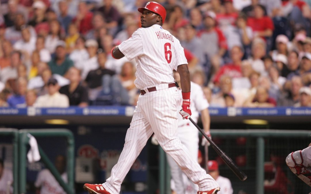 Ryan Howard Was A Prodigious Power Hitter During His 13-Year MLB Career