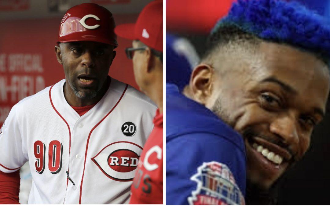 Speed Demon Delino Deshields Jr. Reunites With His MLB Dad On Cincinnati Reds