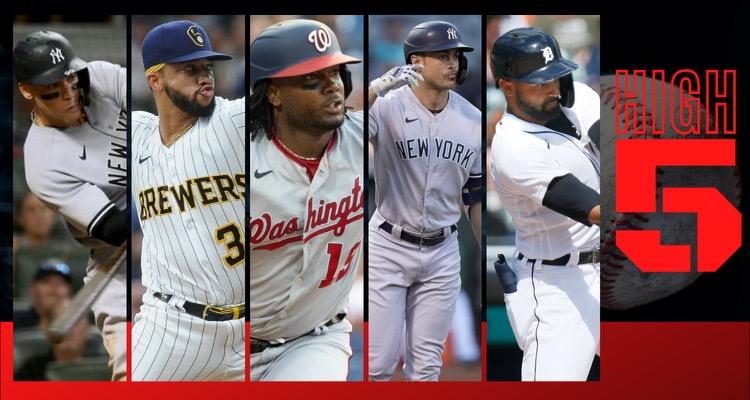 #HIGHFIVE | Top 5 Black & Brown MLB Players (Week 21)