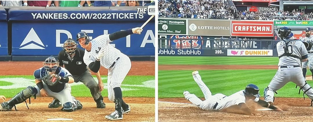FRONT STREET   Yankees Clinch AL Wild Card On Judgian Walk-Off Grounder